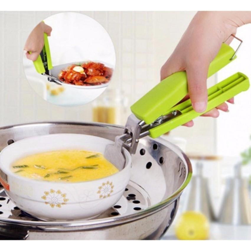 Dụng cụ kẹp gắp nóng bát đĩa cách nhiệt